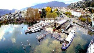 Esondazione Lago Maggiore 2014 - Locarno e Dintorni / Drone View
