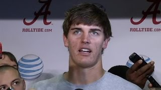Jake Coker post-game interview