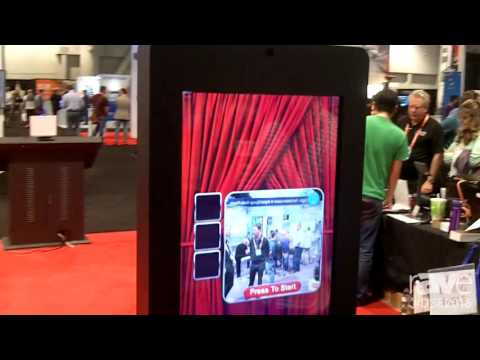 DSE 2016: TS Microtech Features Photo Booth Digital Signage Kiosk