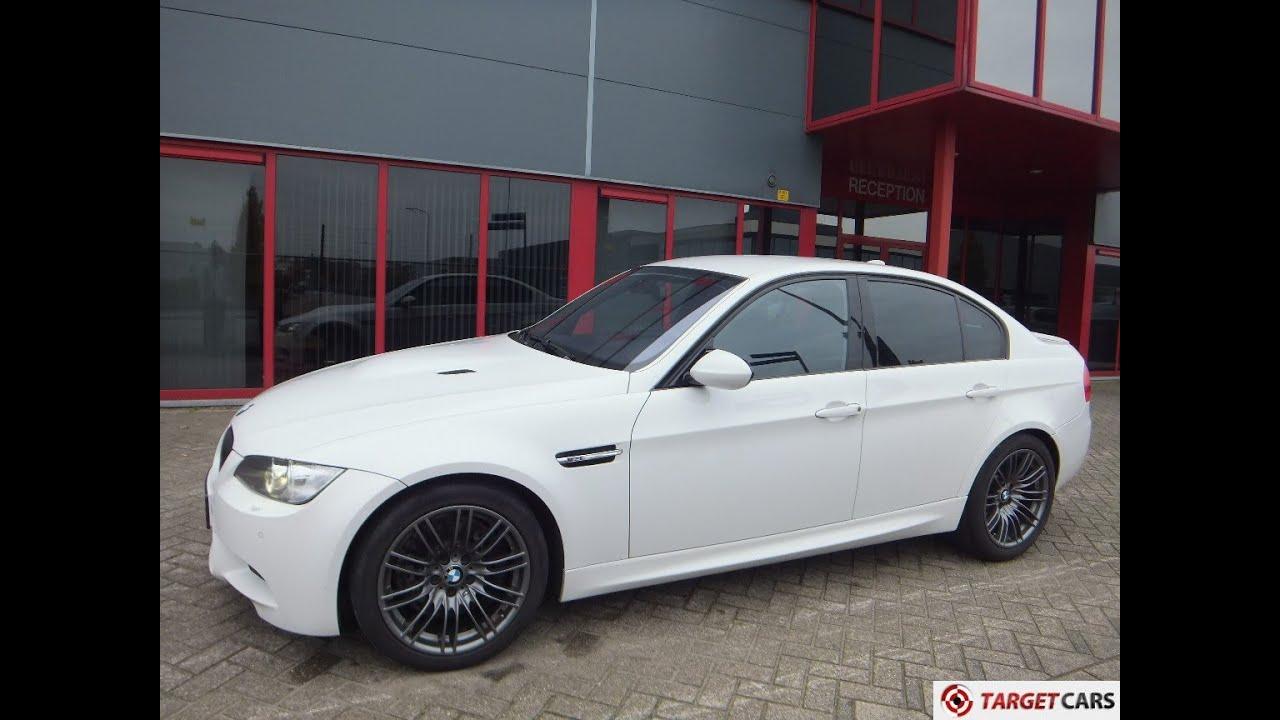750175 BMW M3 E90 SEDAN MANUAL 4.0L V8 05-2008 WHITE 420HP ...