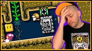 Do We Have The IQ For This Troll Level? Super Mario Maker 2