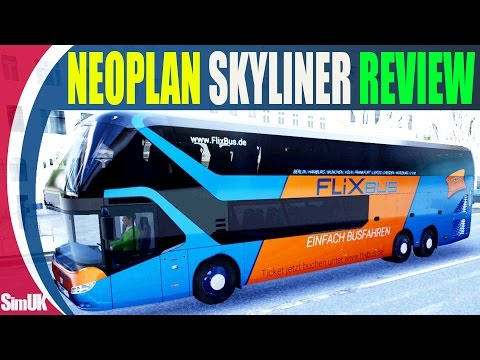 Fernbus Neoplan Skyliner Review (First Look) + Giveaway Details how to Win a Neoplan Skyliner