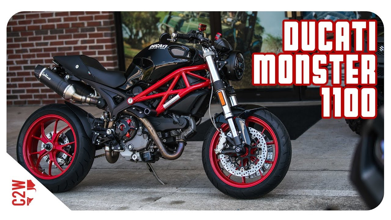 First Ride | 2009 Ducati Monster 1100 [Wrecked Bike Rebuild Season 1 ...