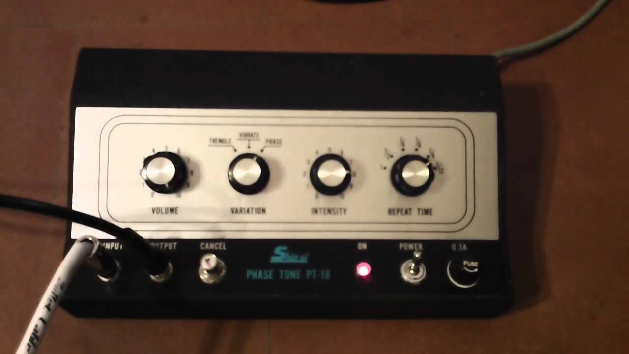 Vintage Shin Ei Phase Tone Pt 18 Youtube This Picture Is A Preview Of Gibson Ga20rvt Amplifier Schematic