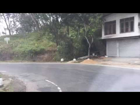 Avisawella - Hatton Road   Sri Lanka   Time Lapse