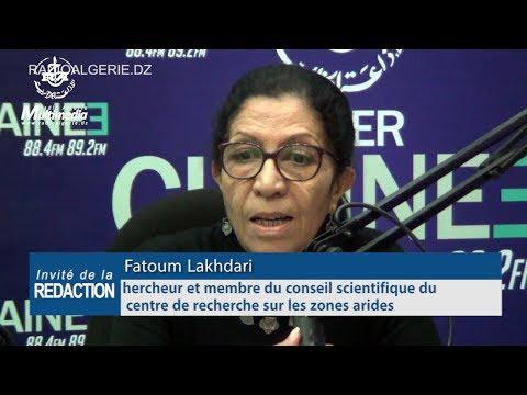 Fatoum Lakhdari chercheur et membre du conseil scientifique du centre de recherche sur les zones ari