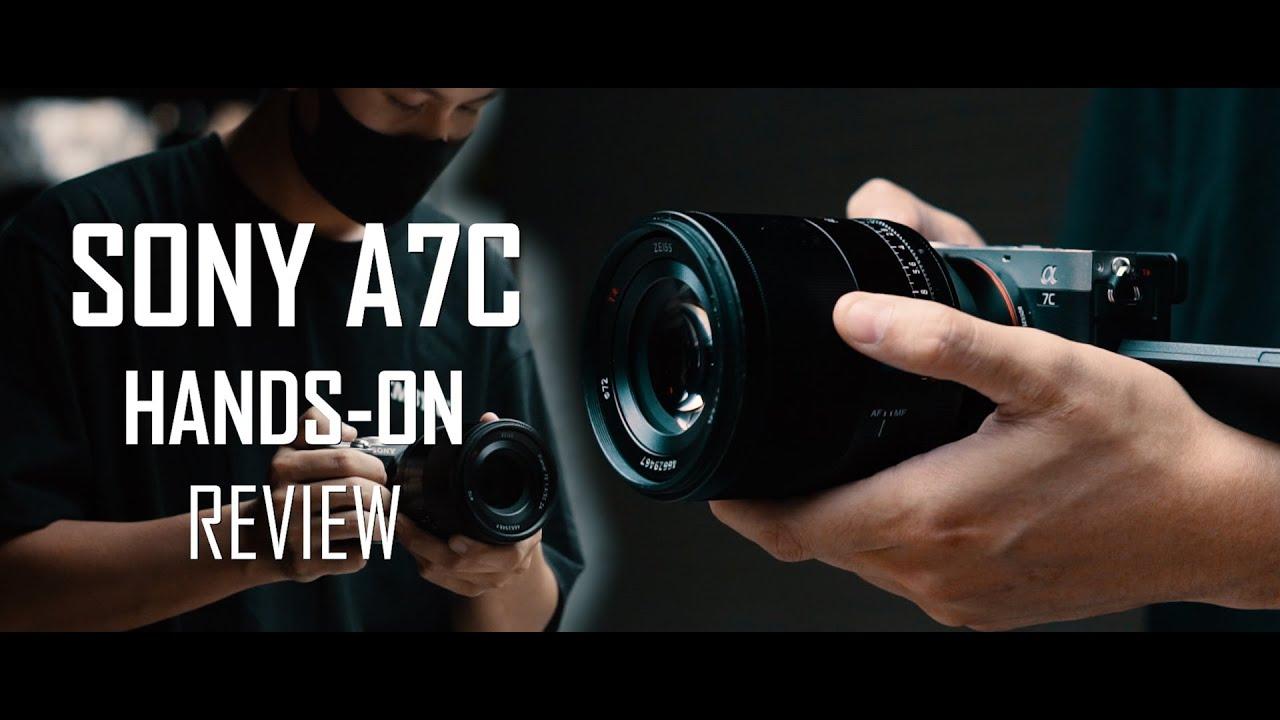 Trên tay Máy Ảnh FullFrame Nhỏ Nhất Thế Giới! - Sony A7C | Hiếu BK