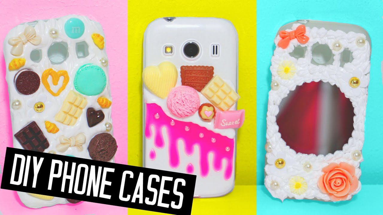 brand new 920a5 0c8db DIY phone cases designs! Decoden, mirror & more!