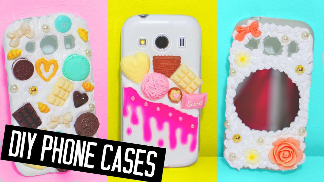 brand new 93978 8c519 DIY phone cases designs! Decoden, mirror & more!