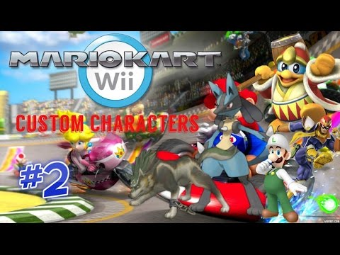 Mario Kart Wii Custom Characters Mod Hack 2 Mkwii