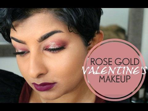ROSE GOLD Valentine's Day // SaminSays