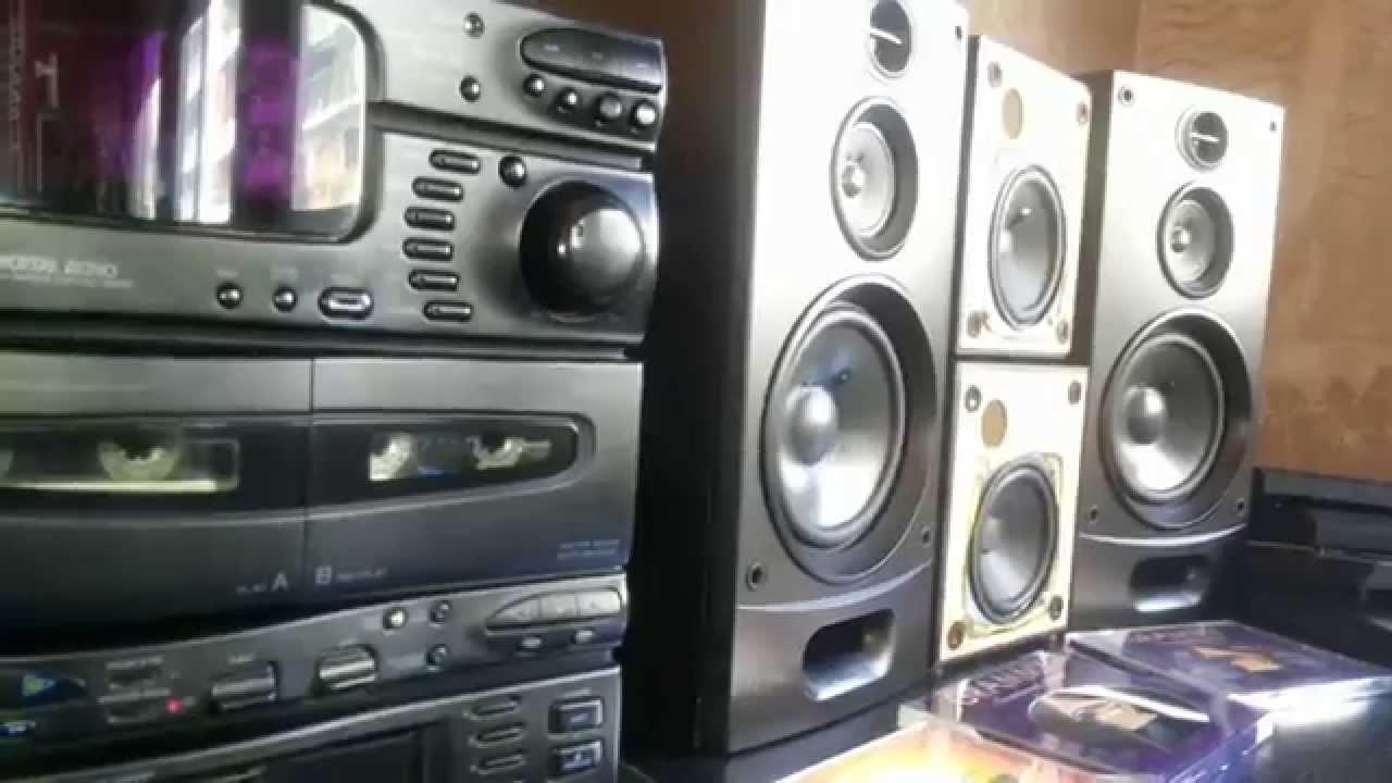 JVC MX CA-C33 HI-FI 7 CD TESTING SPEAKERS SONY SS-2750E