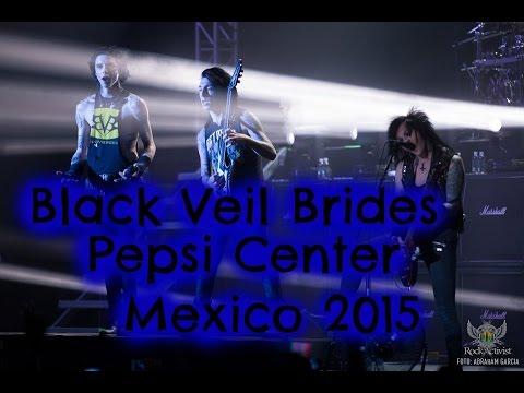 Black Veil Brides en Pepsi Center   Ciudad de México 19 Abril 2015   Klauu & Yu