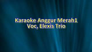 KARAOKE ANGGUR MERAH-1 - Nada Pria Cowok - Kunci #D=Do - Elexis Trio.