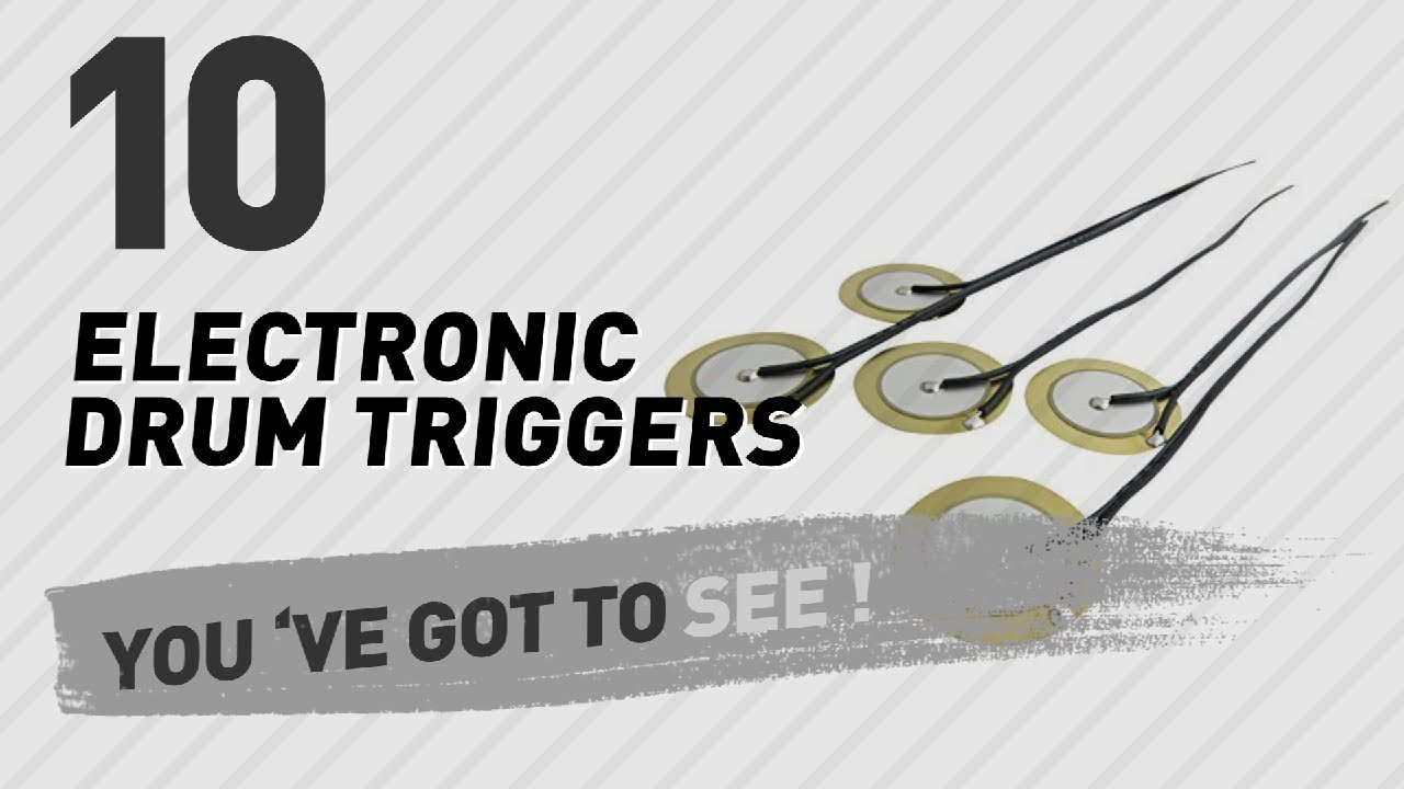 Top 10 Electronic Drum Triggers // New & Popular 2017