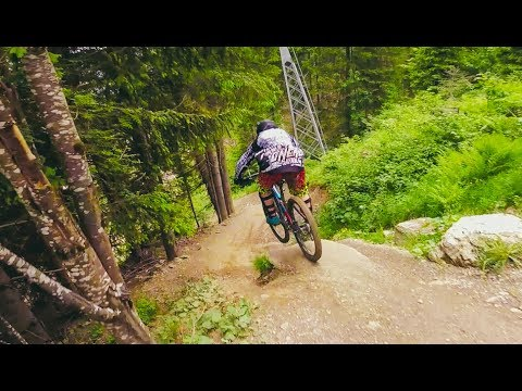 Bikepark Schladming / Planai is the best + nice crash from/with a flat tire