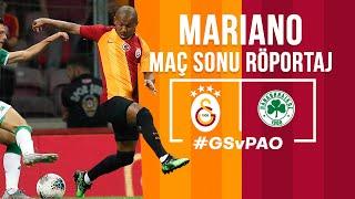 🎙 Mariano |  Galatasaray - Panathinaikos Maç Sonu Açıklamaları