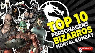 PERSONAGENS BIZARROS DE MORTAL KOMBAT - TOP 10