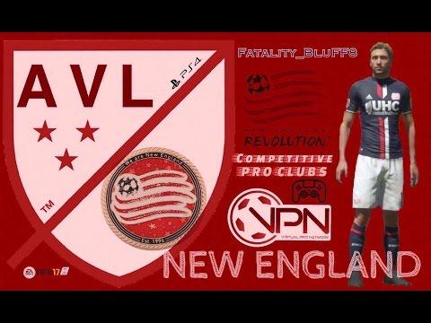 FIFA 17 Pro Clubs | VPN New England l S6E11 | Fixture 27 & 28 | VPN Vancouver & Philadelphia