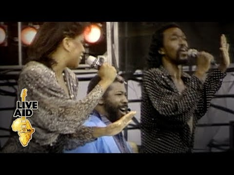 Ashford & Simpson / Teddy Pendergrass - Reach Out And Touch (Live Aid 1985)