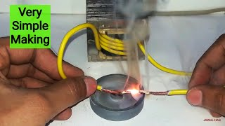 How to make high current Transformer (Easy method)
