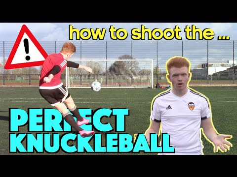 How To Shoot The PERFECT Knuckleball | Cristiano Ronaldo Freekick Tutorial