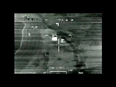 U.S. Apache helicopter killing Iraqi Insurgents