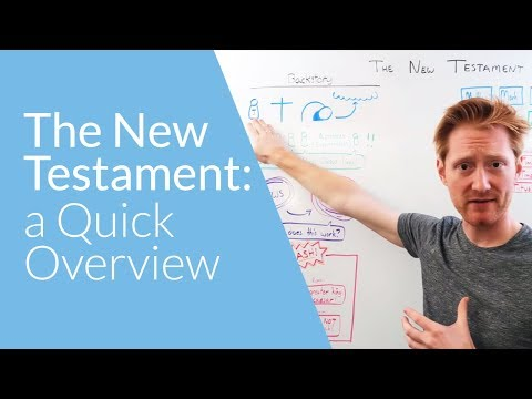 The New Testament: A Quick Overview | Whiteboard Bible Study