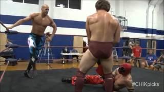 Daniel Bryan & Cesaro vs. Mike Quackenbush & Jigsaw [CHIKARA] September 13, 2009