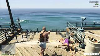 gta 5 brutal kill compilation grand theft auto v shark attack funny moments thug life