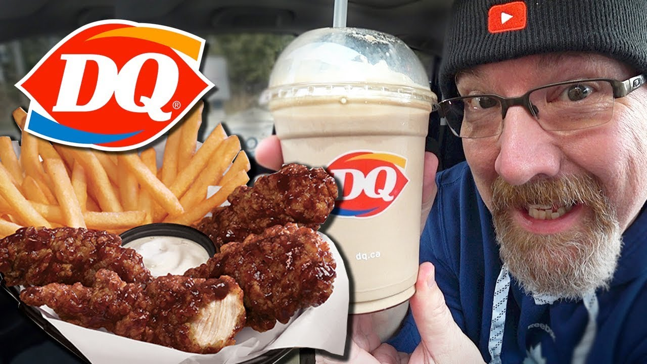 ❤️ Dairy Queen ❤️ Honey BBQ Glazed Chicken Strip Basket