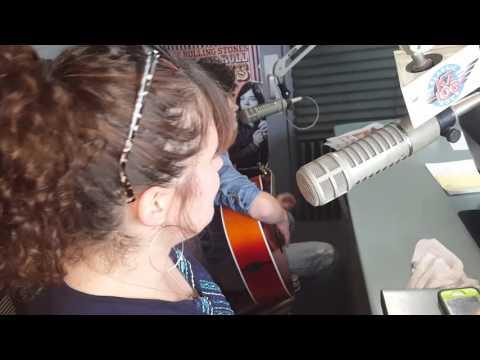 Skyler Ellis plays guitar live on KZ106!