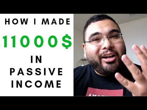 Passive income february 2019 I made $11,000 this month 4 ways