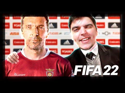 CONTRATÁMOS UMA LENDA!!! #8   FIFA 22