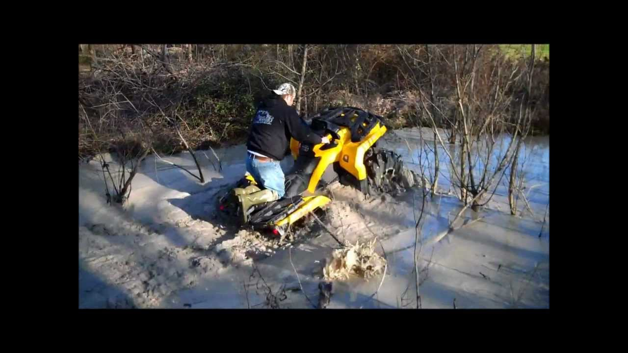 Can Am 1000 >> Can Am Outlander 1000 on 29.5 outlaws vs. Vinson on 27 executioners - YouTube