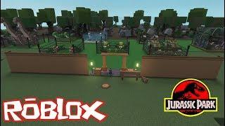 ROBLOX - I Build My Dinosaur Park - DINO TYCOON