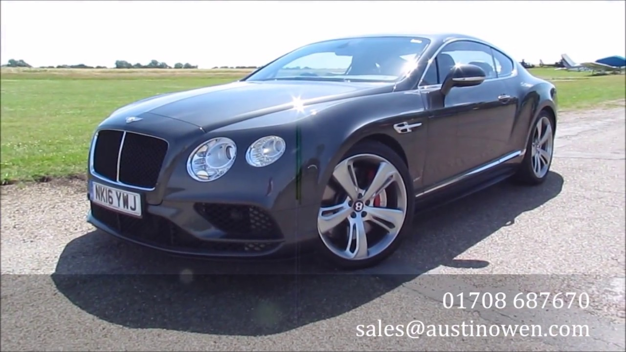 Bentley Continental Gt V8 S 2016 For Austin Owen Specialist Cars