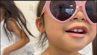 【こなつ⭐︎はな】サングラス姉妹(°▽°) धूप का चश्मा बहनें Sunglasses sisters