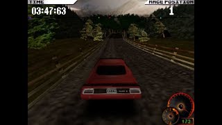 Test Drive 4 (1997) PC Playthrough - Masters Cup