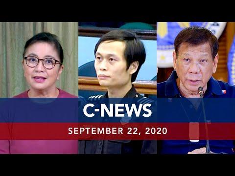 UNTV: C-NEWS | September 22, 2020