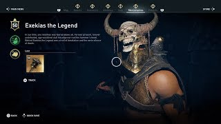 Exekias the Legend - Assassin's Creed Odyssey Final Mercenary