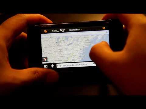Google Maps on Nokia N900