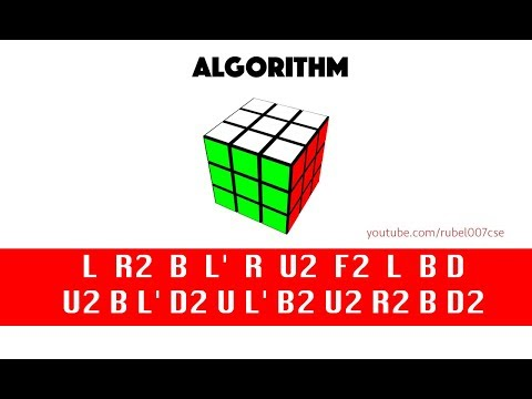 How to Solve the Rubik's cube using Algorithm? ( Universal solution)