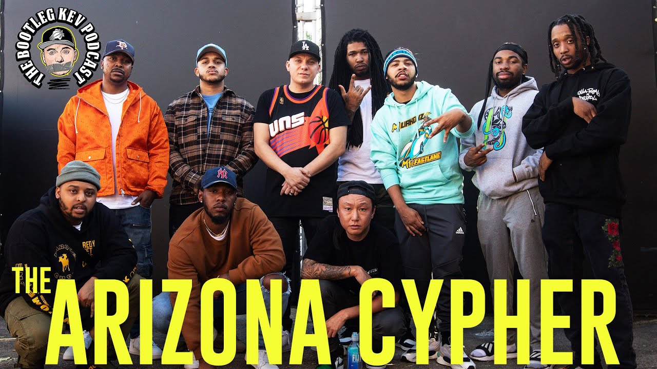 BOOTLEG KEV DROPS AZ CYPHER W/ Tony Choc and AZ ELITE