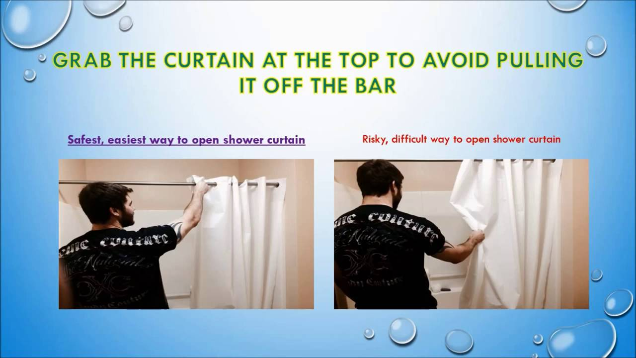How To Use A Shower Curtain