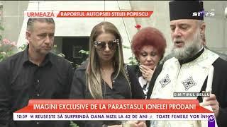 Anamaria Prodan, parastas pentru mama ei la Cimitirul Bellu