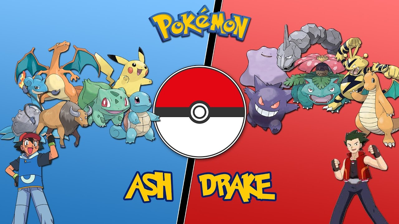 Ash vs drake orange league pokemon battle revolution lets play 03 youtube