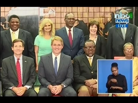 NBCNews - U.S. Congressional Delegation visits Namibia