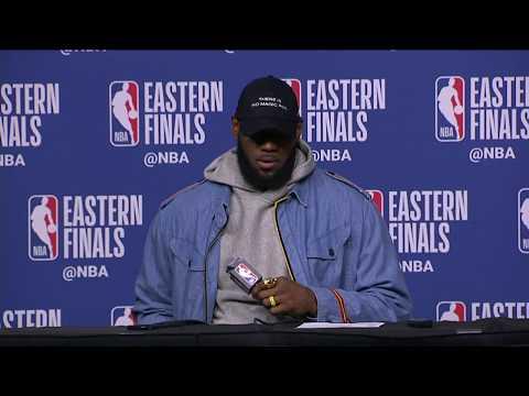 LeBron James Postgame Interview | Cavaliers vs Celtics Game 7