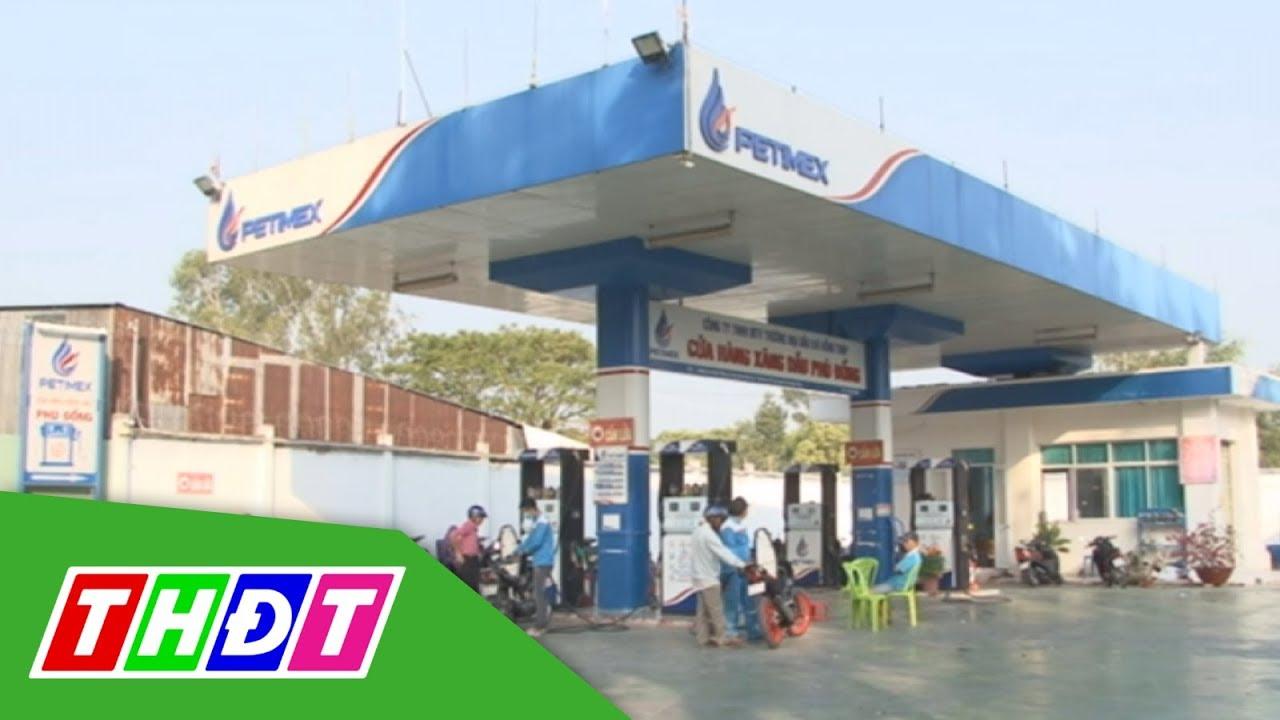 Giá xăng giảm từ 15h chiều nay | THDT